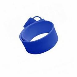 Флешка VF-201 синий, силиконовый браслет
