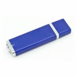 Флешка VF-661 синий, прямоугольный пластиковый корпус