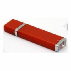 Флешка VF-661 красный, прямоугольный пластиковый корпус