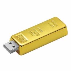 Флешка VF-Gold bar, металлический корпус