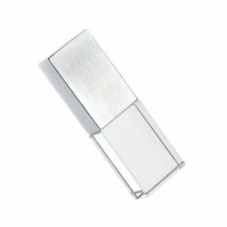 Флешка VF-Кристалл LED жёлтый, стеклянный корпус