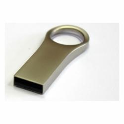 Флешка VF-mini74 светлый, мини металлический корпус