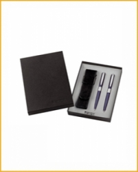 Подарочная коробка с кожанным футляром арт. SC197